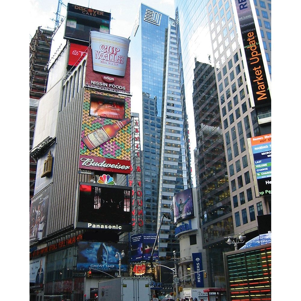 Times Square Scenic Printed Backdrop Backdrop Express