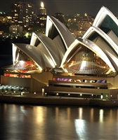 Sydney Opera House Scenic Backdrop