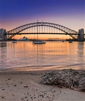 Sydney Harbour Bridge Scenic Backdrop