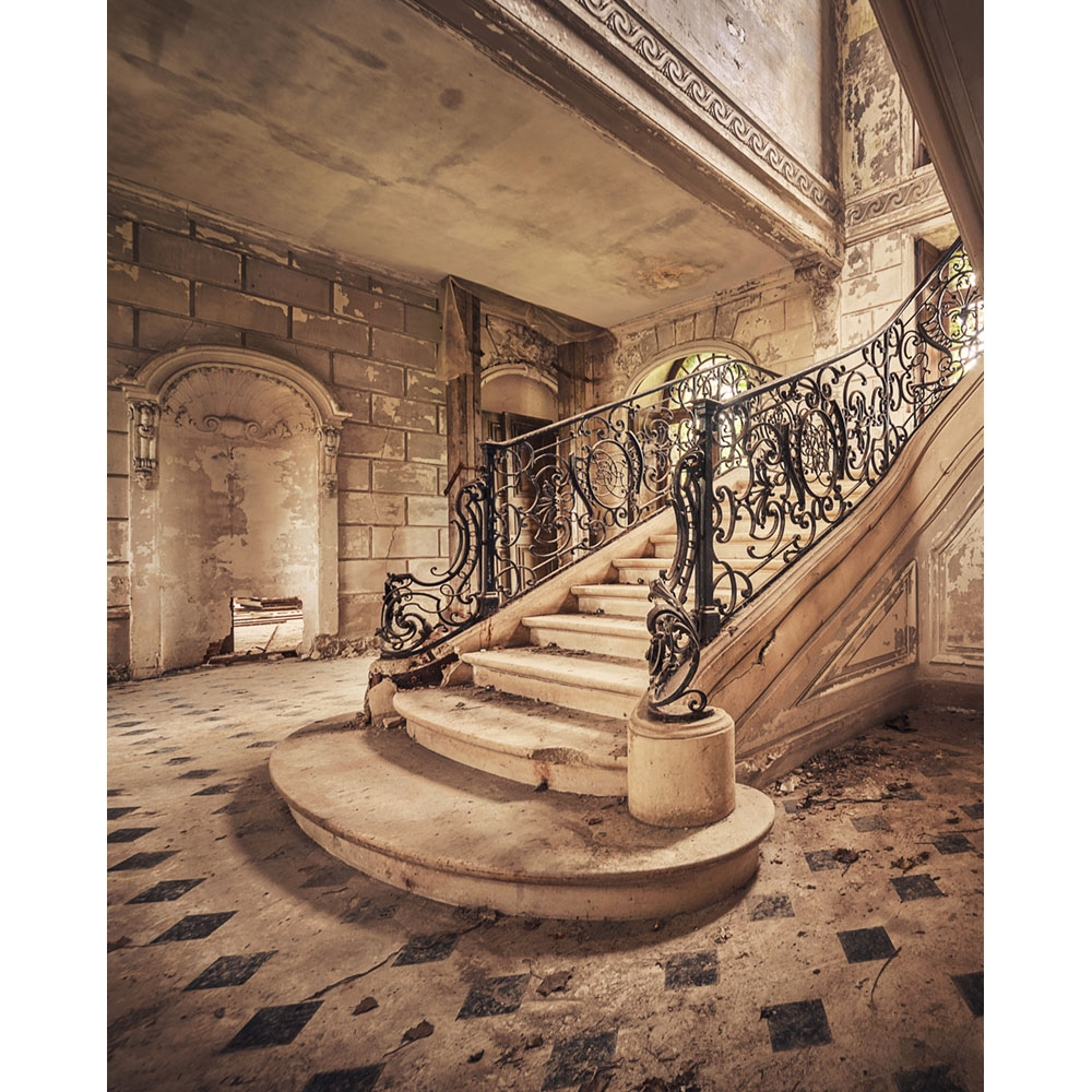 elegant stairway backdrop printed backdrops stairways backdropexpress mh sc