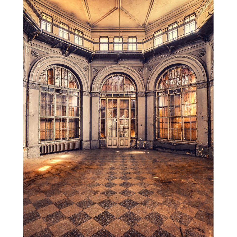 Victorian Conservatory Printed Backdrop Backdrop Express