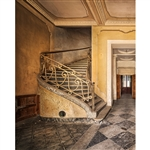 Antique Staircase Printed Backdrop