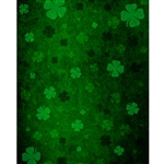 Grunge St. Patrick's Day Printed Backdrop