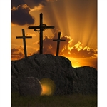 Tomb of Jesus Printed Backdrop