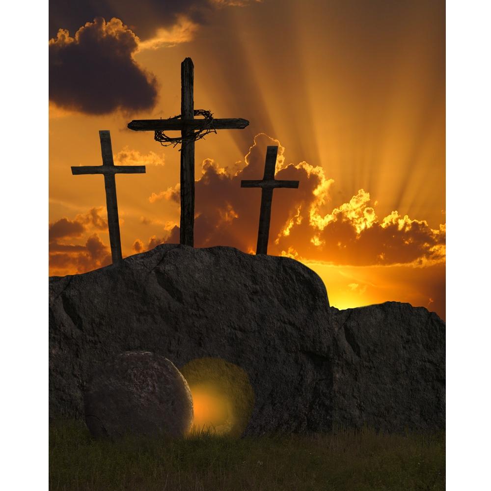 Tomb Of Jesus Printed Backdrop Backdrop Express