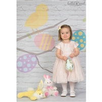 Spring Tree Branches Printed Backdrop