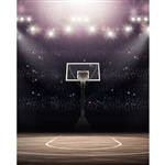 Basketball Stadium Printed Backdrop