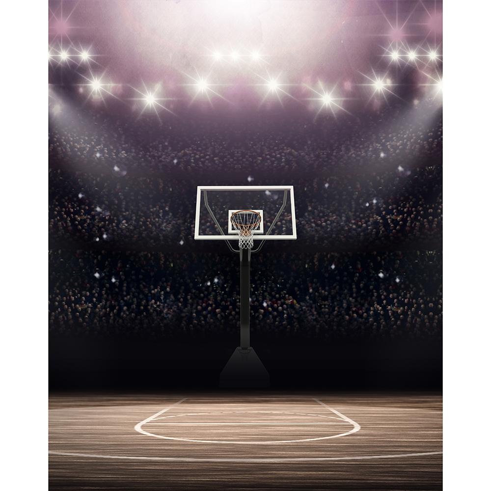 Basketball Stadium Printed Backdrop Backdrop Express