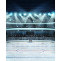 Hockey Stadium Printed Backdrop