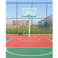 Outdoor Court Printed Backdrop