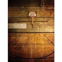 Basketball Gym Printed Backdrop
