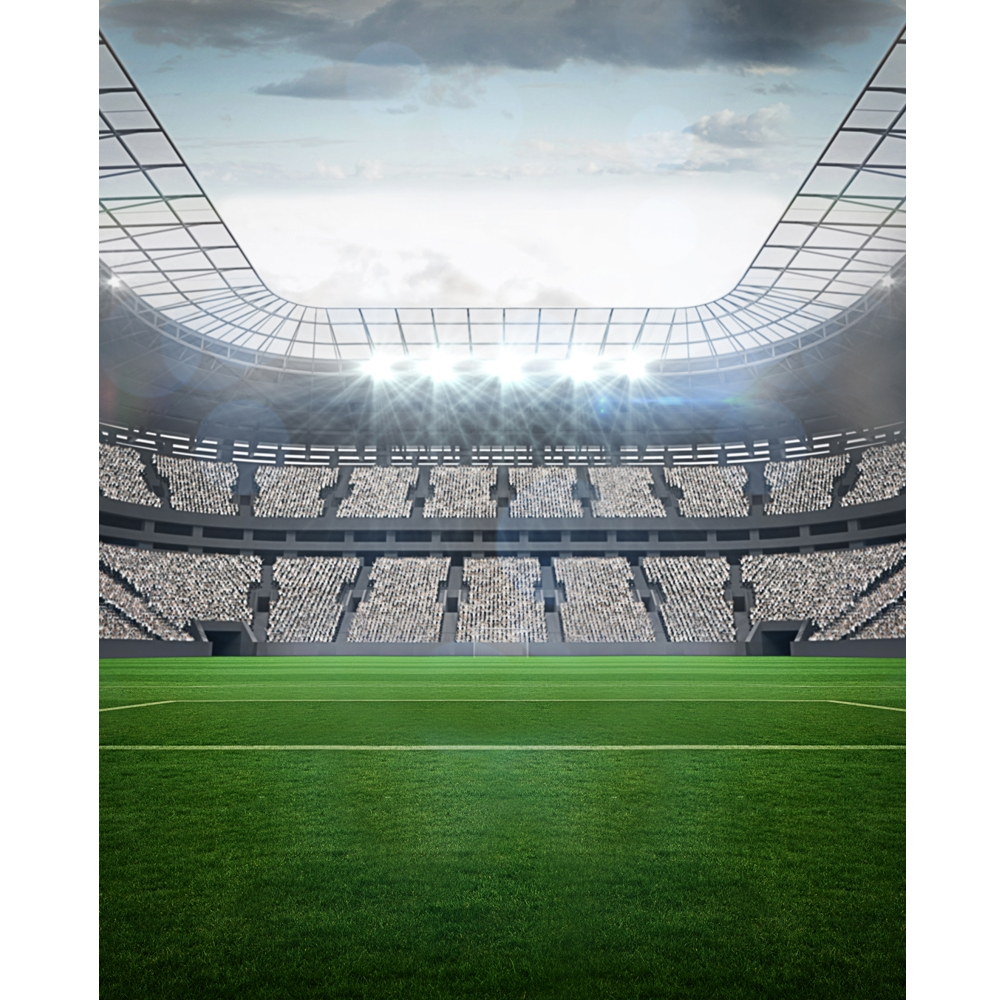 Sports Arena Backdrop - Poly Paper - 5ft (w) x 6ft (h)