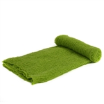 Apple Green Stretch Knit Wrap
