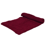 Burgundy Stretch Knit Wrap