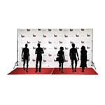 Step & Repeat Fabric Backdrop Kit
