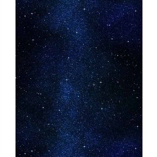 Night Sky Printed Backdrop