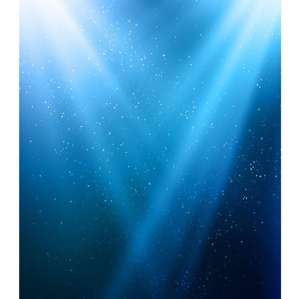 Blue Spotlight Printed Backdrop Backdrop Express