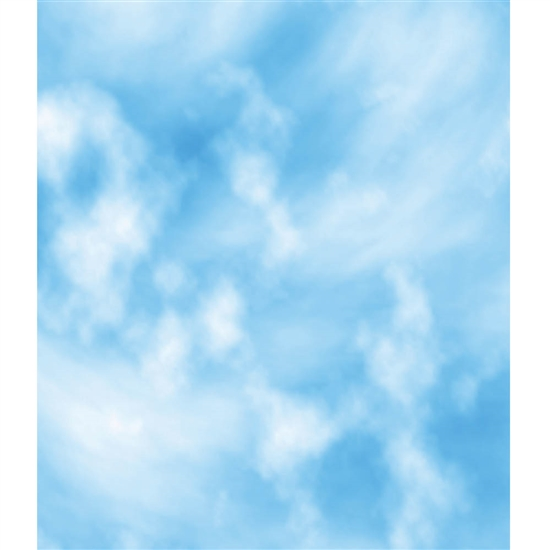 Blue Sky Printed Backdrop
