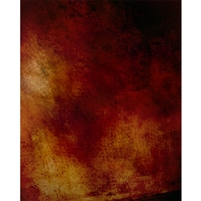 Grunge Red Printed Backdrop - Vinyl - 5ft (w) x 9ft (h)