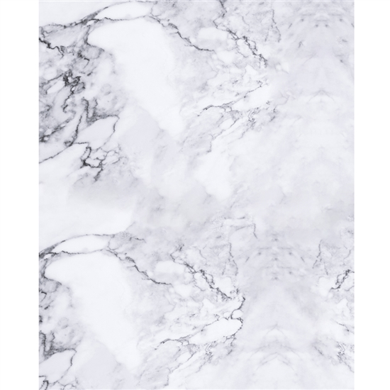 White Marble Printed Backdrop