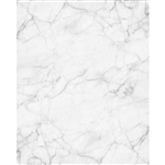 White Gray Marble Printed Backdrop
