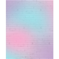 Cotton Candy Planks Printed Backdrop
