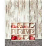 Love Shelves Printed Backdrop