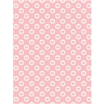 Pink Valentine Printed Backdrop
