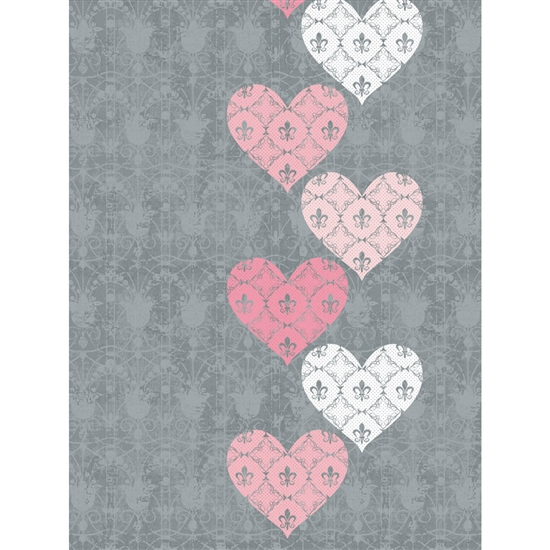 Valentine Lace Printed Backdrop