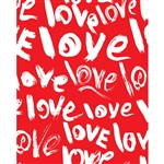 Endless Love Printed Backdrop