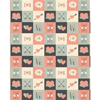 Wedding Patches Printed Backdrop