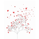 Love Tree Printed Backdrop