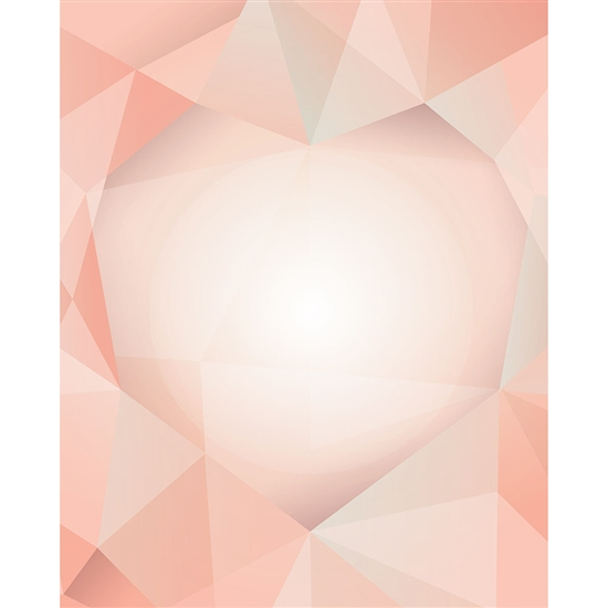 Abstract Heart Printed Backdrop