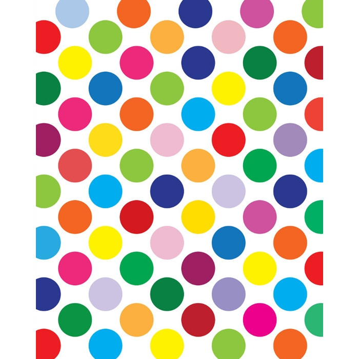 Birthday Collage Amp Polka Dots Vinyl Backdrop Kit