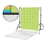 Rainbow & Shamrock Vinyl Backdrop Kit
