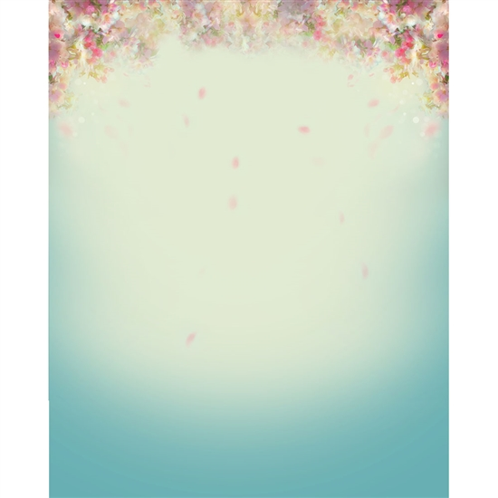 Falling Petals Printed Backdrop