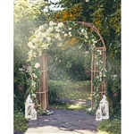Flower Arch Printed Backdrop