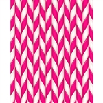 Pink Peppermint Sticks Printed Backdrop