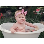 Newborn photography bathtub prop